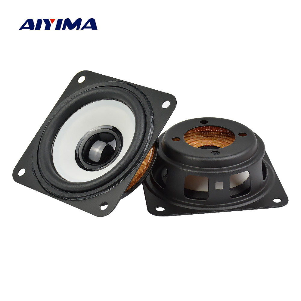 AIYIMA 2PCS 2.75 Inch Bass Passive Radiator 70mm Speaker Auxiliary Woofer Vbration Plate For 2.5