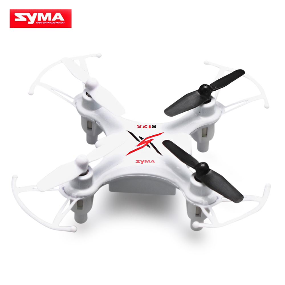Syma X12S 4CH 6-Axis Gyro RC Helicopter Drones Quadcopter Mini Dron without Camera Indoor children Toy gift-White
