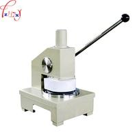 1 pc manual de papel Vertical impacto máquina de placa de corte de amostragem quantitativa sampler amostrador de papel quantitativo 100cm2|machine|sampler|  -