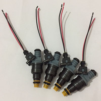 4pcs High Performance 1600CC CNG 160lbs Gas Fuel Injector With Ev1 Plugs 0280150842 0280 150 842