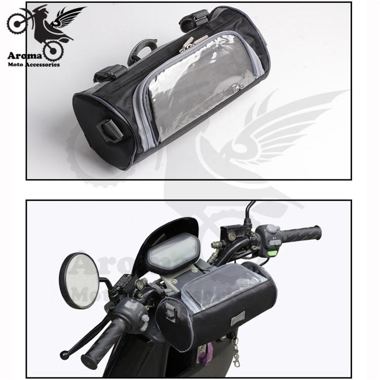 motorbike handlebar touch phone pouch moto head bag tool luggage universal accessories scooter side bag backpack motorcycle bags borsa da moto serbatoio