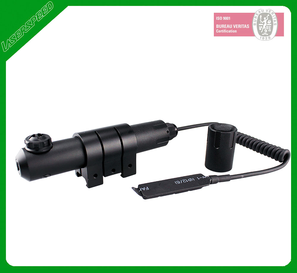 Waterproof IPX8 tactical green dot laser sight for rifle gun scope remote switch 102 module green dot laser sight pressing switch controlled with mounts