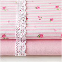 width 160cm*50cm Rustic bedding 100% cotton fabric small flower baby child bed sheet duvet cover pillowcase quilt sewing fabric