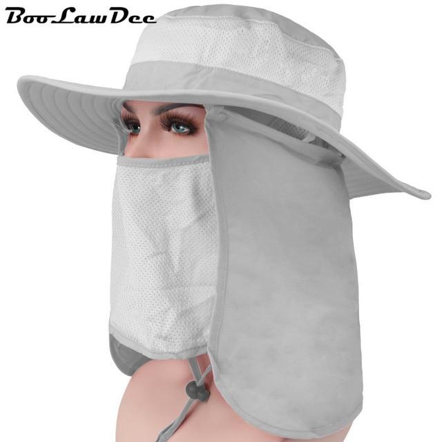 BooLawDee 360 досуга шляпа солнца большой наполнянный до краев анти-УФ дышащий быстросохнущие тени крышка завод прямые продажи свободный размер 59 см 4F008