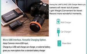 Image 2 - LANFULANG Camcorder Battery Charger Compatible For PANASONIC NV GS230 NV GS320 VDR D300 VDR M70 VDR M50 VDR D210