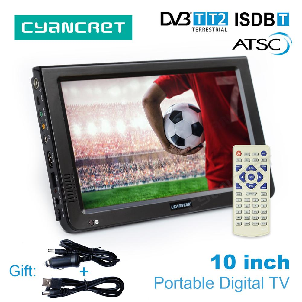 LEADSTAR 10 inch HD Portable TV DVB-T2 A