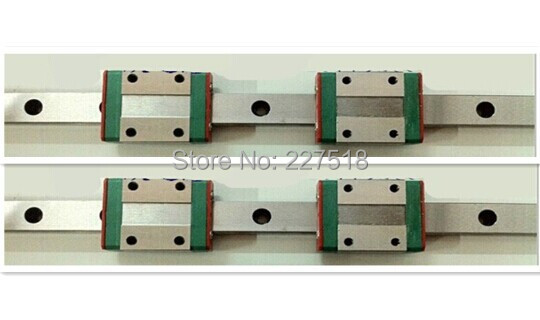 2pcs MGN12 L200mm linear rail + 4pcs MGN12C sitemap 82 xml