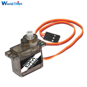 Image 2 - 10pcs/lot Metal gear Digital MG90S 9g Servo For Rc Helicopter plane boat car MG90 9G
