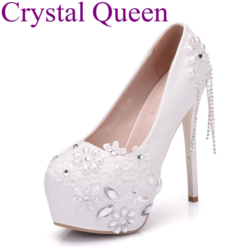 lace wedding shoes wedding shoes white lace tassel ultra high heels bridal 5381