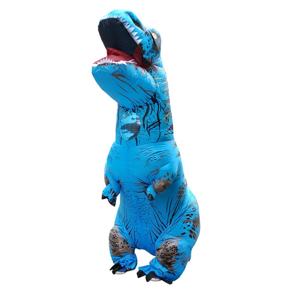 Inflable T-Rex dinosaurio  traje de fiesta juguetes al aire libre juego educativos niños 27
