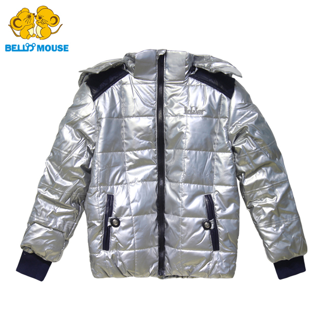 2aac991c9 Bello Mouse Classical Winter Shining Hoody coat for Boys 3 15Y ...