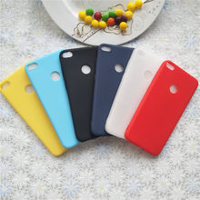 Macarons Color TPU Silicone Frosted Matte Case For Huawei honor 8 lite 5.2 '' Simple Solid Color Soft TPU Cases(China)