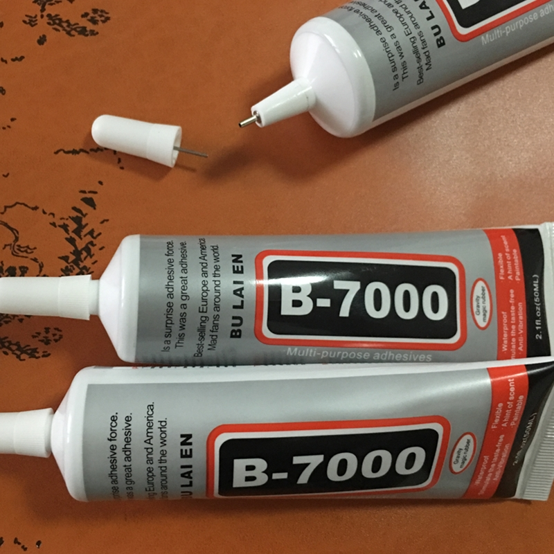 1pc 50ml Industrial Strength Super Adhesive Clear Liquid B-7000 Glue Diy Phone Case Crafts Pearls Jewelry Rhinestones B7000 Glue