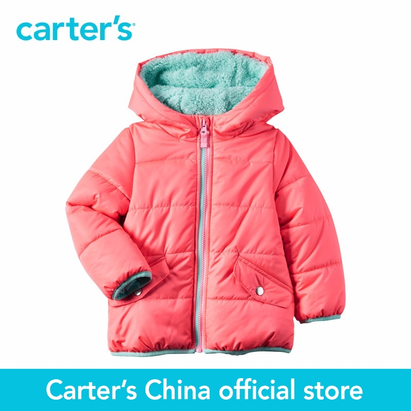 Carter's 1pcs baby children kids Neon Puffer Jacket CL216526,sold by Carter's China official store