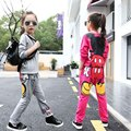 Children Girls clothing set autumn teenage girls sport suit Mickey print school kids clothes tracksuit 2pcs 4~13 T girls clothes