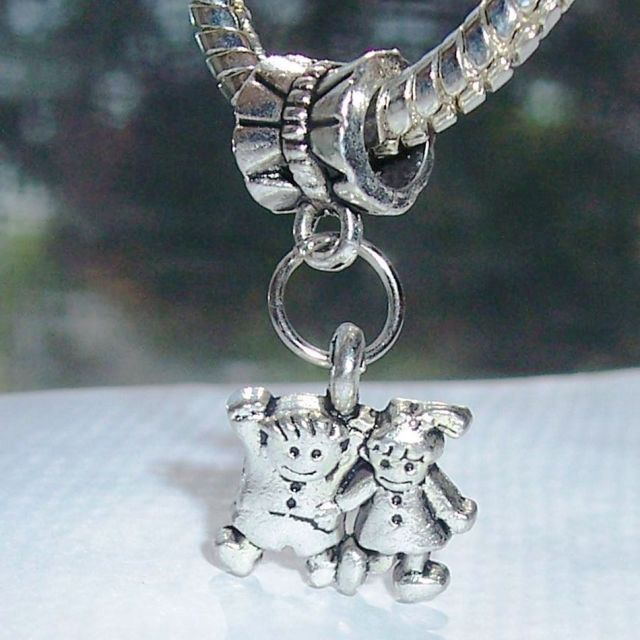 tiny little pendant charm l mother necklace boy