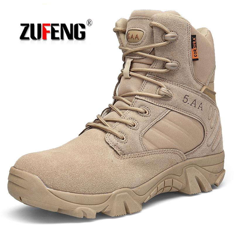 High Quality Waterproof Men Hiking Shoes Special Forces