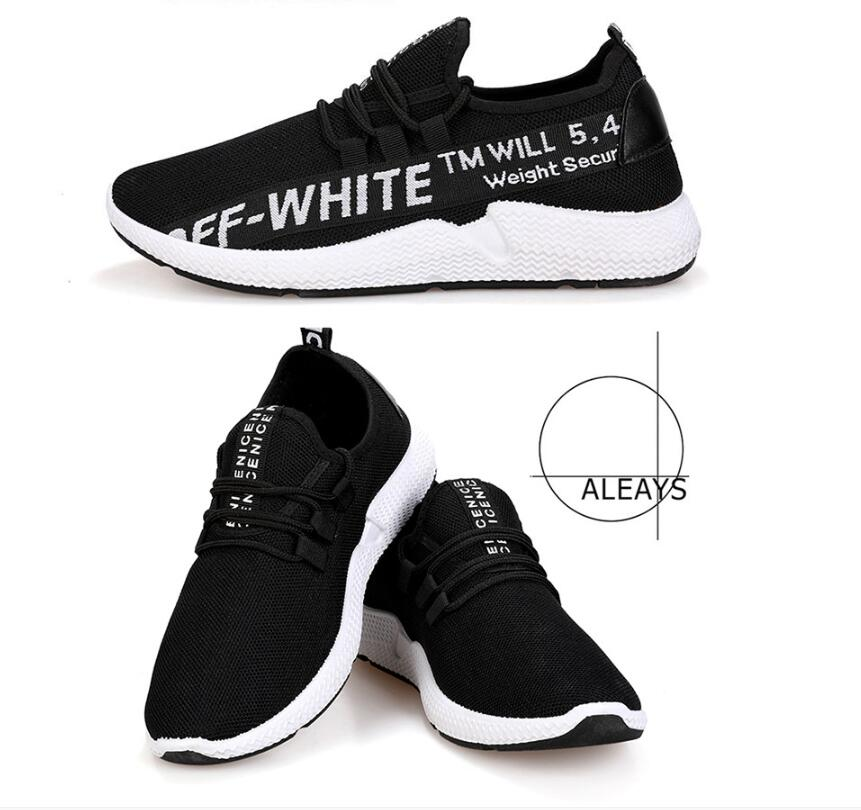 Shoes Dependable Aike Asia 2018 New Mens Breathable Mesh Casual Shoes Lovers Brand Lightweight Flat Shoes Lace Style Comfortable Mens Shoes