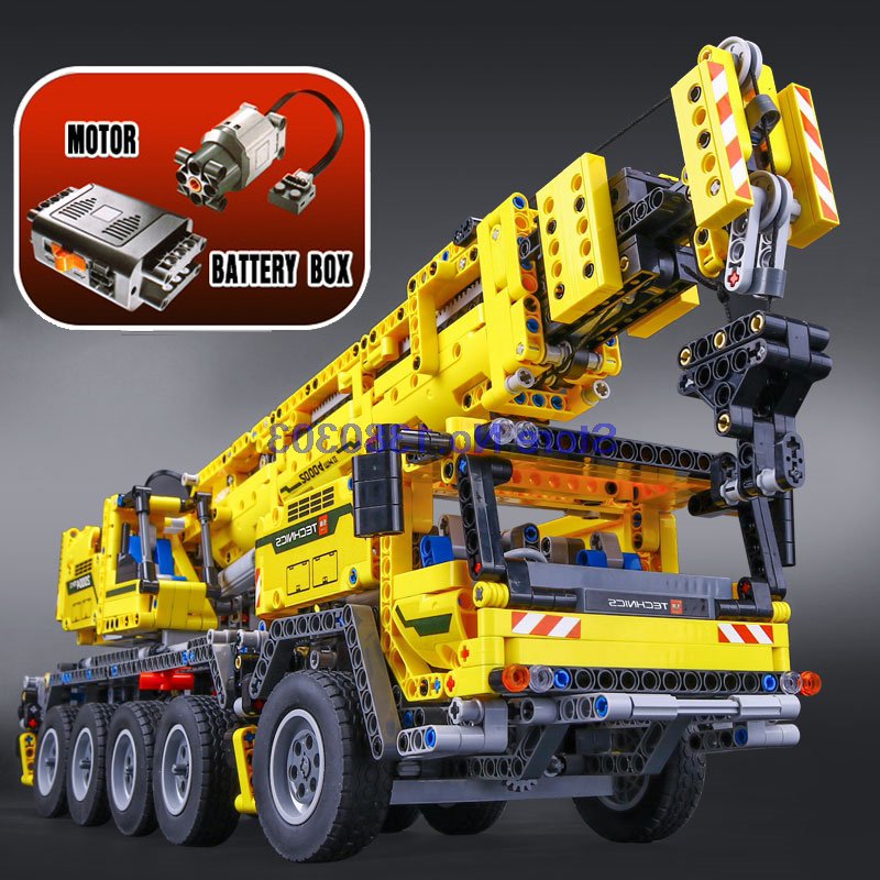 Compatible With Lego Lepin Technic Series Mobile Crane Mk ...