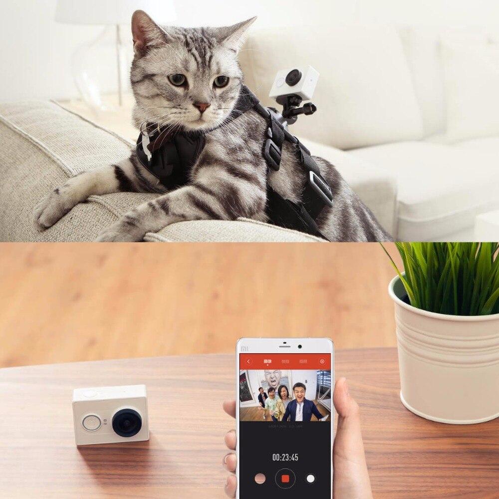 Xiaomi caméra d'action yi yi 1080 p sport horloge avec caméra espion Kamera extérieure microsd tf support de carte mémoire app wifi télécommande caméras - 3