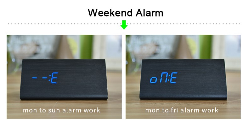 6 Weekend Alarm