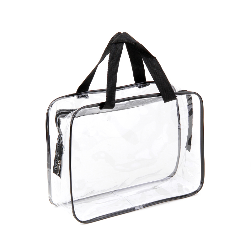 Large Size Environmental Protection PVC Transparent Cosmetic Bag Women Travel Make Up Toiletry Bags Makeup Organizer Case
