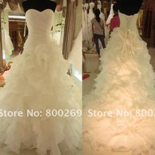 free shpping new fashion 2013 white champagne purple plus size long actual lmages elegant ball gown wedding dresses bridal gowns