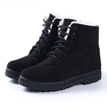 Fashion warm snow boots heels winter boots new arrival women ankle boots women shoes
