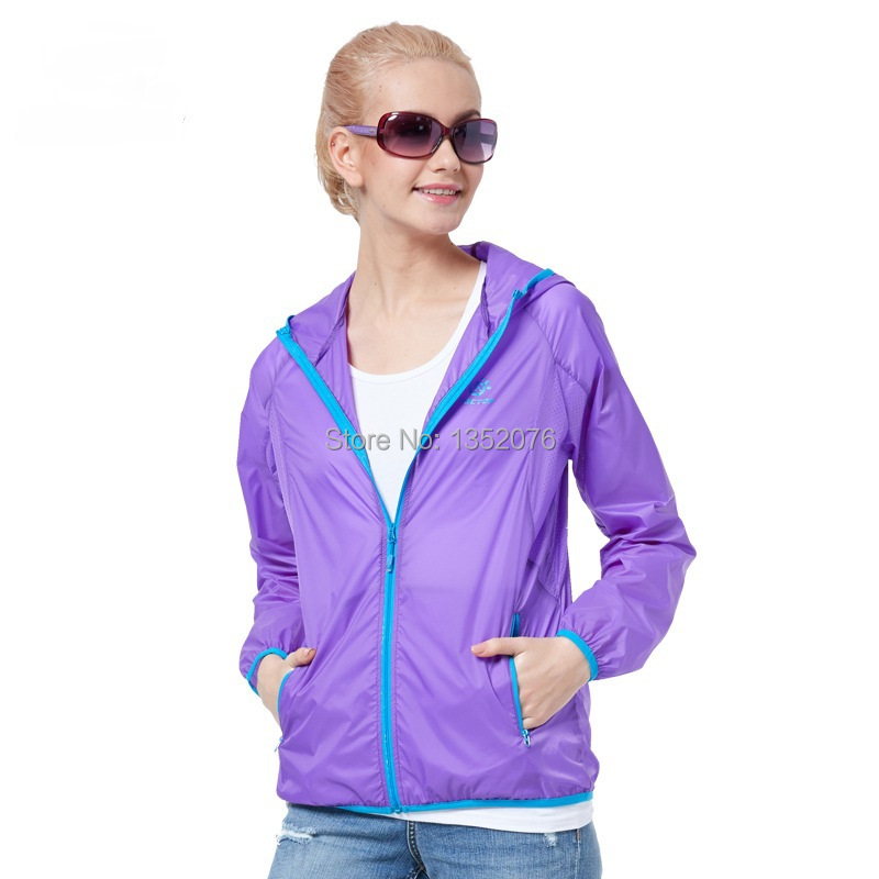 New Summer Lovers Women Super Lightweight Skin Jacket Outdoor ...