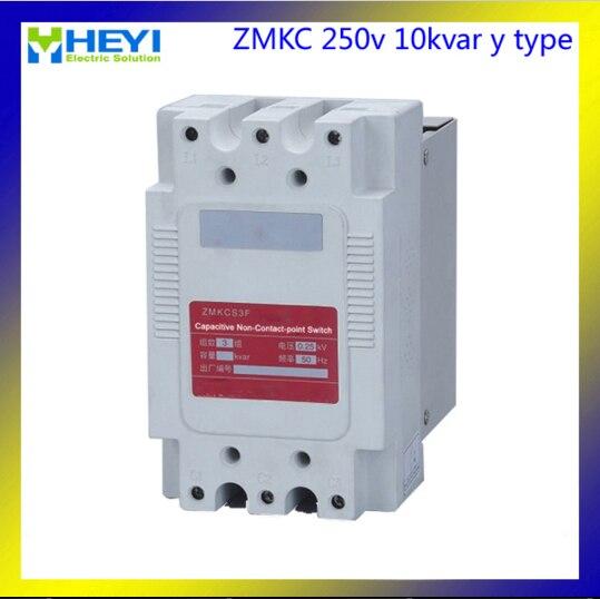 ZMKC thyristor power regulator Y phase split compensate non contact switch for capacitor 250v 5kvar 10kvar