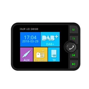 Image 2 - USB 2.4 بوصة شاشة الكريستال السائل سيارة DAB/DAB + راديو استقبال محول مع بلوتوث SD بطاقة FM تشغيل وظيفة FM الانبعاثات الارسال