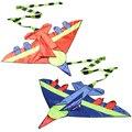 1 Unid Niños Novedad Forma de Avión Cometas Cometa Al Aire Libre Niños Niños Juguete de Desarrollo Juguete de Regalo Del Festival Del Niño