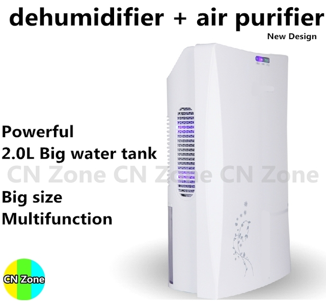 Dehumidifier Moisture Absorber Anion Purify Air Dryer Desumidificador Drying Machine Household Purification Home Deshumidifier
