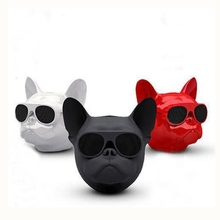 Bulldog Wireless Bluetooth Speaker Portable Outdoor Music Player Speakers Touch Control Mini Bass Loudspeaker For iPhone