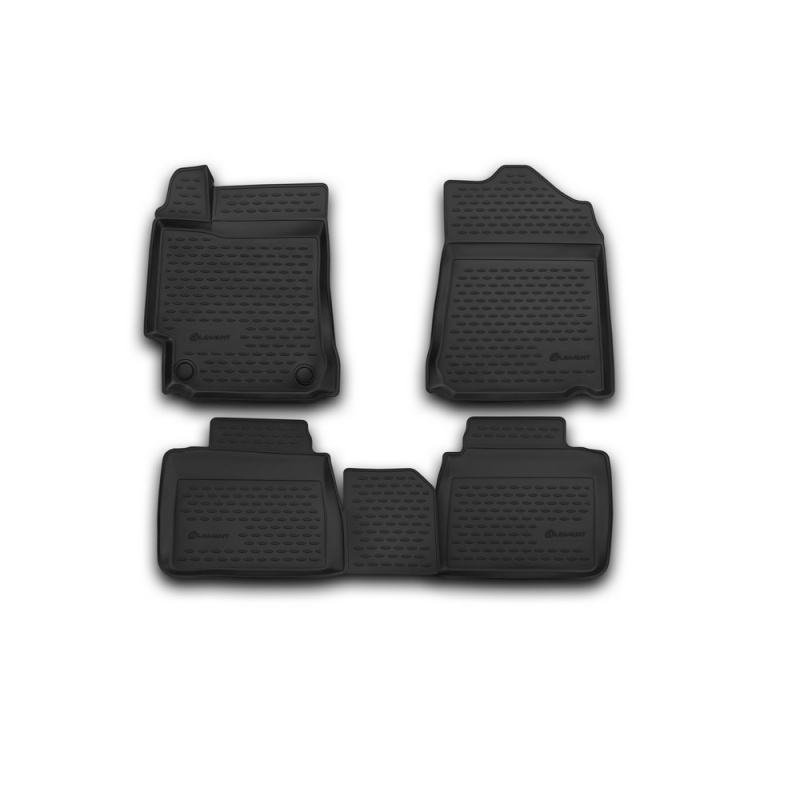 Car Mats 3D salon For TOYOTA Camry, 2014-> 4 PCs (polyurethane) custom fit car floor mats for toyota camry rav4 prius prado highlander verso 3d car styling carpet liner ry56