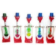 1 шт. безостановочная жидкая стеклянная игрушка для питья счастливая птица Утка Настольная игрушка вечное движение Новинка