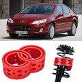 2 шт. супер мощный задний автомобильный амортизатор  пружинный бампер  мощный амортизатор  специальный буфер для Peugeot 407