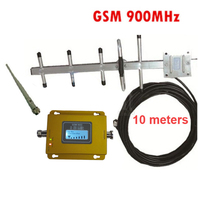 w/ 10M cable +yagi antenna 55dbi gsm repeater 900Mhz signal booster GSM booster repeater,GSM amplifier signal booster GSM 900mhz