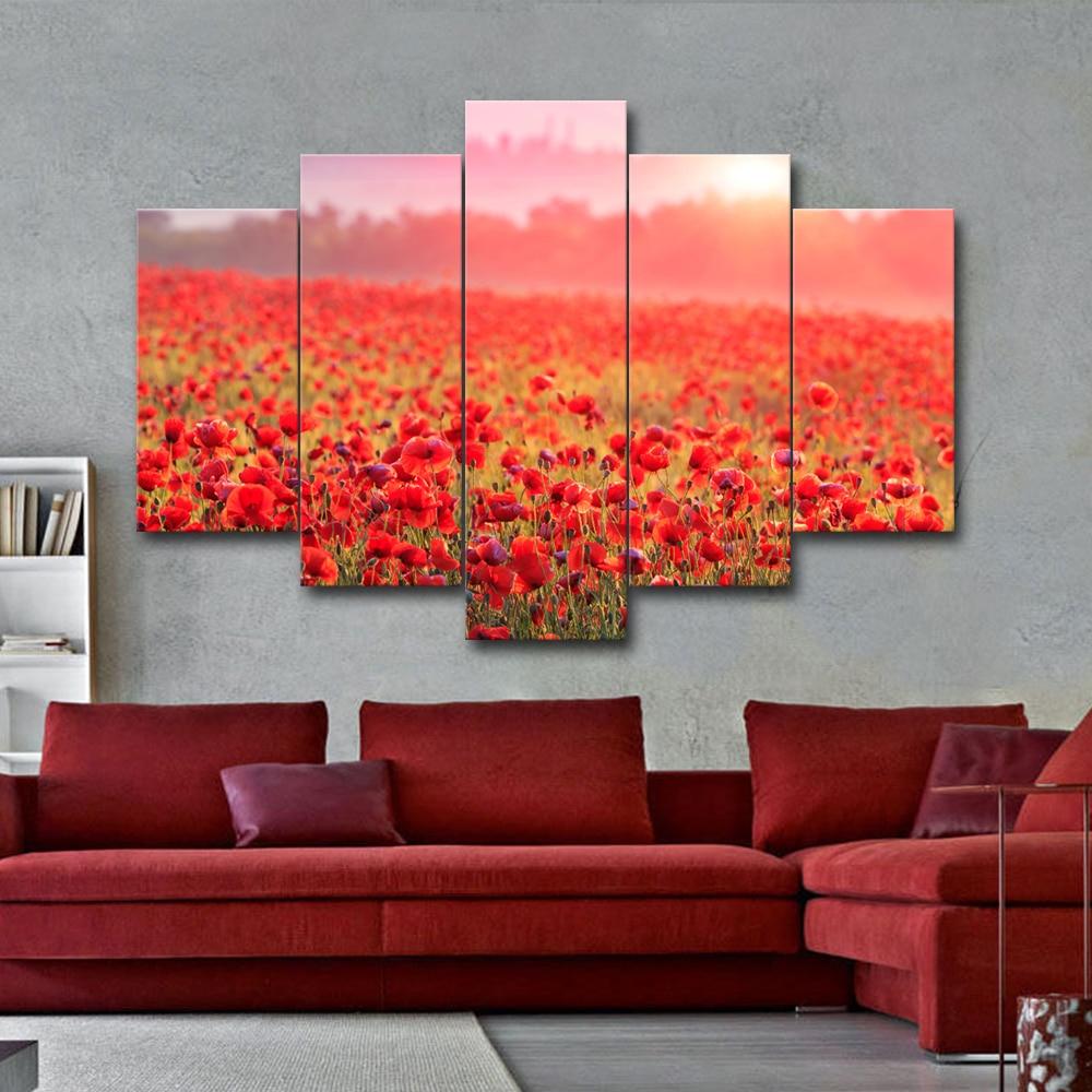 Fleur Pour Decoration Salon 3 pcs grande taille moderne accueil décorations pour les