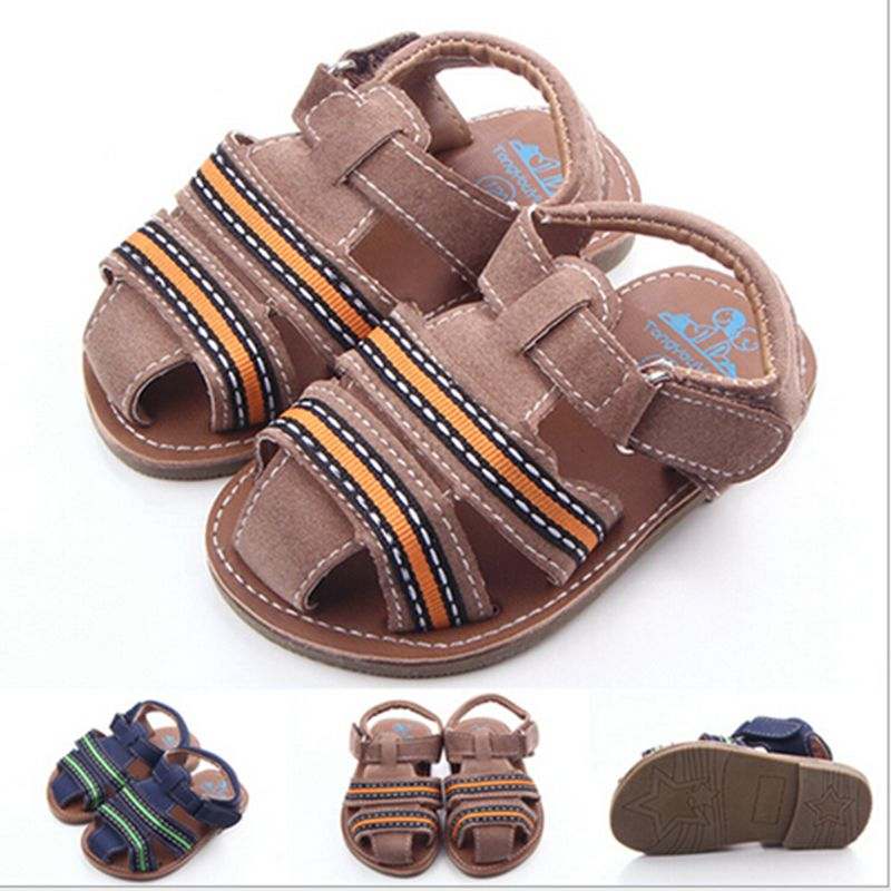 New Handsome Baby Shoes First Walker Soft Sole Anti slip Infant Toddler Kids Boys Shoes Crib