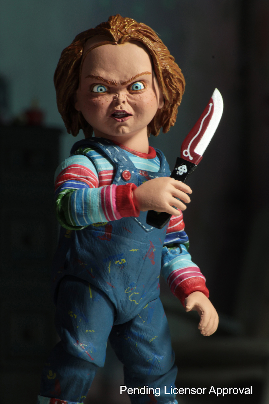 7inch Horror Series Chucky Cult 3 Head Deluxe Edition