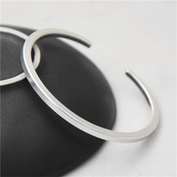JINSE New Famous Brand Trendy Antique Thai 925 Silver Bangles & Bracelets For Men Women Fashion Jewelry Lover's Gift PKY315
