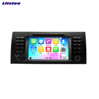 Liislee Android Car GPS Navigation Car Navi player For BMW 5 / X5 / M5 / 7 /For Range For Rover Multimedia Audio Video Radio
