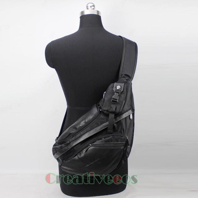 Novos Homens de Nylon Viagens Equitação Triângulo Corpo Cruz Mensageiro Ombro Sling Saco Pacote Peito À Prova D' Água