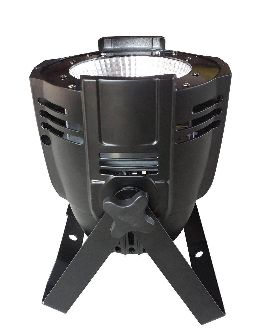 4pcs/lot high quality aluminum housing 100W cob light 6 in 1 RGBWY UV LED COB light for night culb