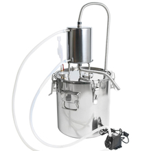 YUEWO 10-35LDIY Home Distiller Moonshine Still Stainless Steel Boiler White Spirits Pure Water Alcohol Oil Wine Brewing Kits цена