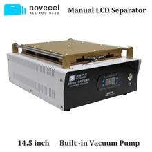 Novecel 14,5 дюймов версия 110 В США большой размер ручной вакуумный ЖК Сепаратор машина для ЖК-экрана для всех дюймов мобильного телефона