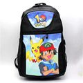 Anime Unisex School Backpack Pokemon Go Bag Computer Daily Backpacks Bags Fashion Men Canvas Travel Bags Women Rucksack ZL-08
