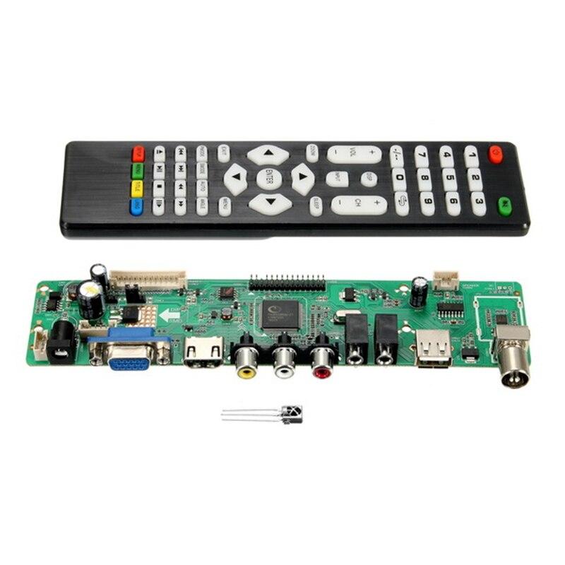 High Quality V56 Upgrade V59 Universal LCD TV Controller Driver Board PC/VGA/USB Interface v56 upgrade v59 universal lcd tv controller driver board pc vga hdmi usb interface
