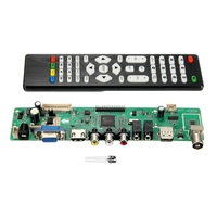 High Quality V56 Upgrade V59 Universal LCD TV Controller Driver Board PC VGA USB Interface